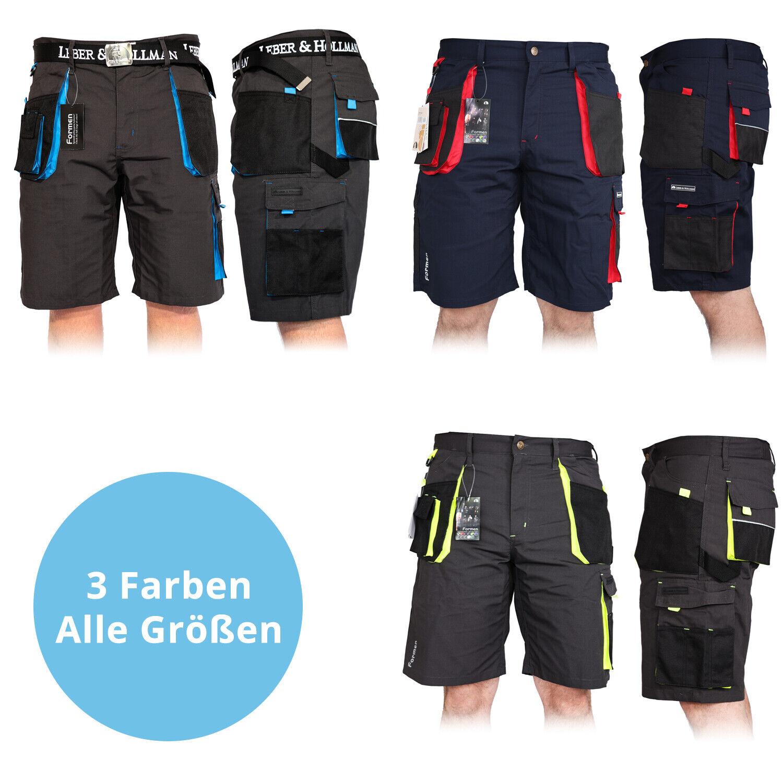 Arbeitshose Kurze Hose Kurz Bermuda Shorts Sommerhose - 3 FARBEN - Gr. S - XXXL