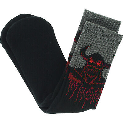 Toy Machine Skateboards Hell Monster Crew Socks Toy Machine Monster Socks