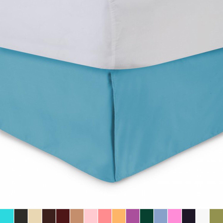 Harmony Lane Tailored Bedskirt with Split Corners