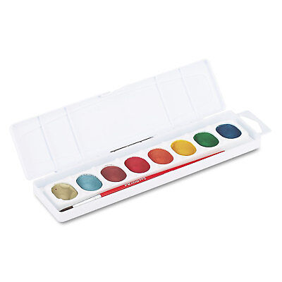 Prang Metallic Washable Watercolors 8 Assorted Colors 80516