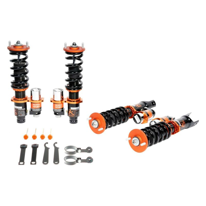 "For BMW Z3 97-02 Coilover Kit 0.5""-2.5"" x 0.5""-2.5"" Kontrol Plus Front & Rear"