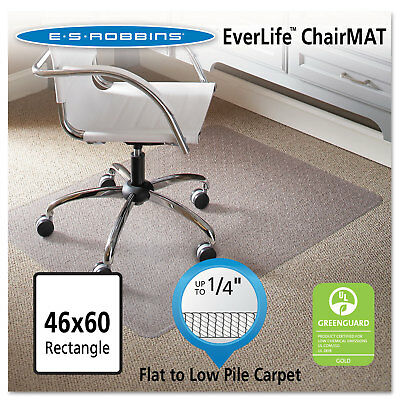 Es Robbins 46 X 60 Rectangle Chair Mat Task Series Anchorbar For Carpet Up To 1
