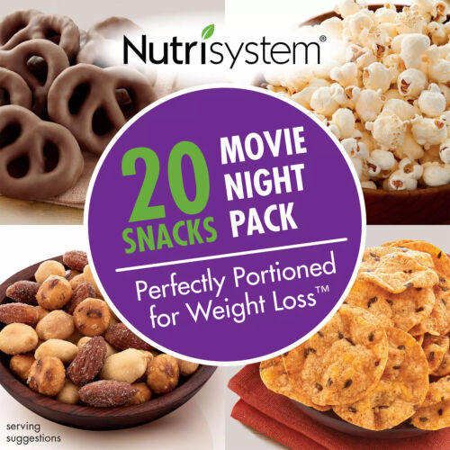 Nutrisystem Movie Night Pack Sweet and savory Flavors