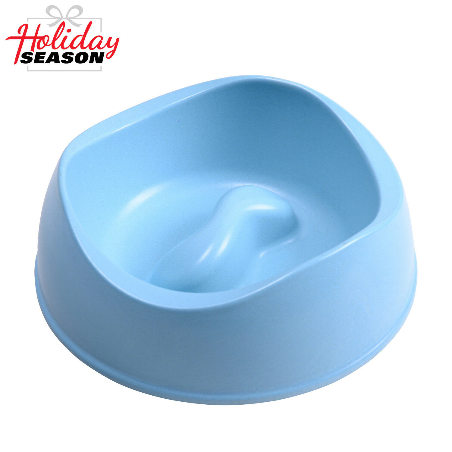 Pet Dog Cat Puppy Go Slow Eating Feed Bowl Eco-friendly Material Healthy Dish