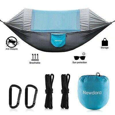 Newdora Hammock with Mosquito Net 2 Person Camping, Ultralight Portable Windp...