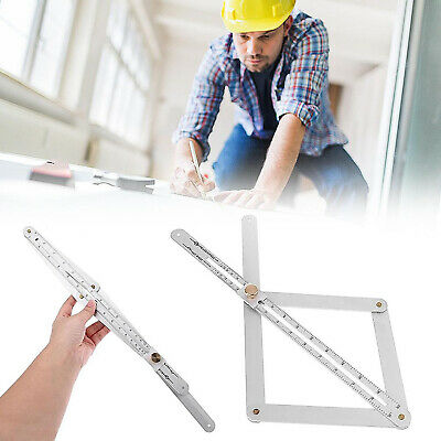 Corner Angle Finder Ruler Gauge Ceiling Artifact Square Protractor Measure Tool
