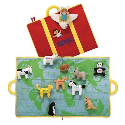 Friends Around The World Activity Mat Baby Toy North American Bear Co. NABCO