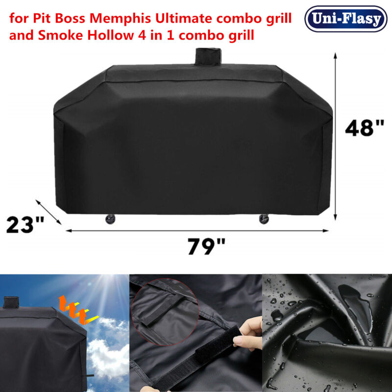 Heavy Duty Grill Cover for Pit Boss Memphis Ultimate, Smoke Hollow Combo Grills
