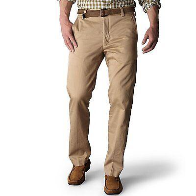 Dockers Men's Size 29 x 30 New British Khaki Slim Fit Flat Front Pants NEW