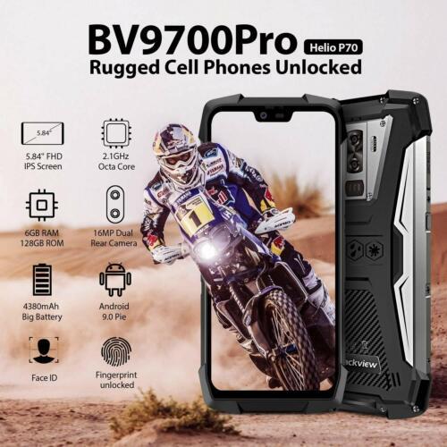 Blackview BV9700 Pro IP69 Rugged Smartphone 6+128GB Helio P7