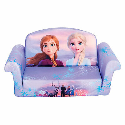 Marshmallow Furniture 2-in-1 Flip Open Couch Bed Furniture, Disney's Frozen 2