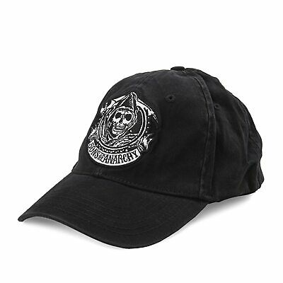 Sons of Anarchy Black Logo Hat (One - Sons Of Anarchy Kostüm Halloween