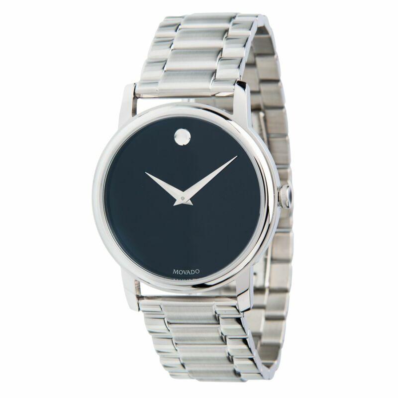 Movado-2100014-Men-Museum-Stainless-Steel-Quartz-Watch