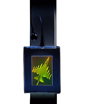 F-16 Fighter Jet 2-Channel 3D Hologram Picture PHOTOPOLYMER Lighted Wall Mount for sale  Shipping to Canada