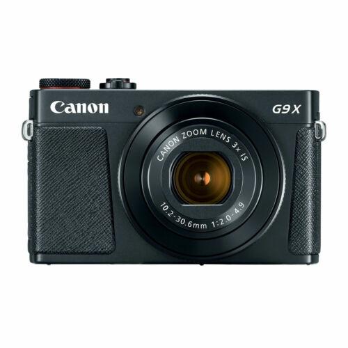 (NEW) Canon PowerShot G9X Mark II 20.1 MP Digital Camera (U.S. MODEL, WARRANTY)