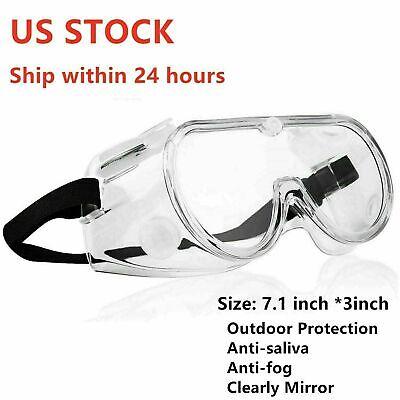 Anti-fog Outdoorhousework Safe Lab Plastic Glasses Protective Goggles Eyewear