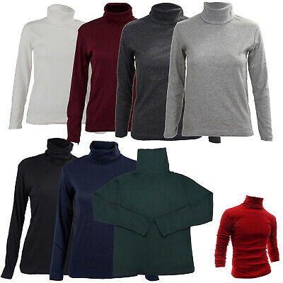 Mode fuer Maenner Herbst Winter Rollkragenpullover Hemd festes Muster Pullo I7E5