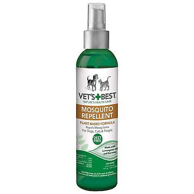 Vet's Best Natural Mosquito Repellent Plant Based Formula For Dogs 8oz