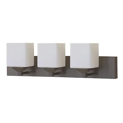 Oil Rubbed Bronze 3 Light Vanity Light Interior Bath Wall Lighting Fixture 40 Contemporary Bath Vanity