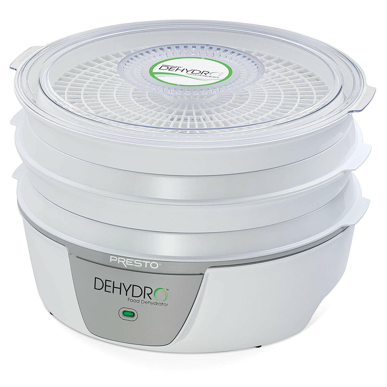 Presto 06300..''Dehydro Electric Food Dehydrator.''/News