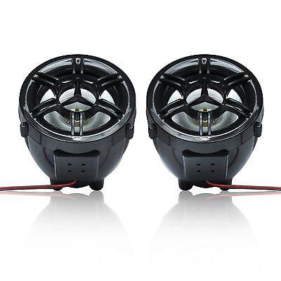Motorcycle Bluetooth Handfree Audio System Fm Radio Stereo Amplifier Speaker Atv