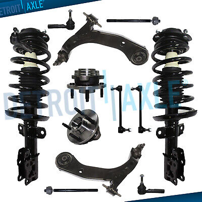 12pc Front Struts Lower Control Arm Hub Bearing Kit for Chevy Cobalt Pursuit G5
