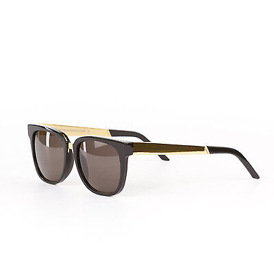 Retrosuperfuture People Francis Black/Gold Fashion Sunglasses SUPER-348 53mm