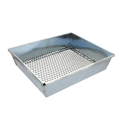 Dirt Sifter (Trapping Sifter – 9 by 7 Inch Metal Dirt Sifter for Trapping and Gardening)
