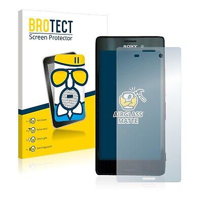 Protector Pantalla para Sony Xperia M4 Aqua Cristal Mate Lamina de Vidrio