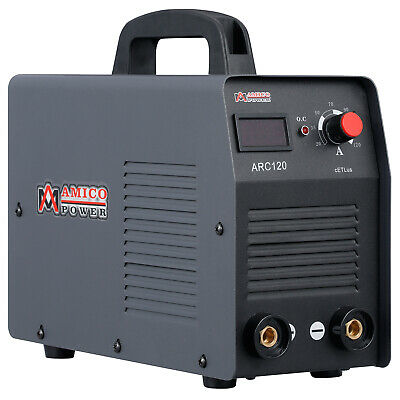 Arc-120 120 Amp Stick Arc Dc Inverter Welder 110v Welding Soldering New