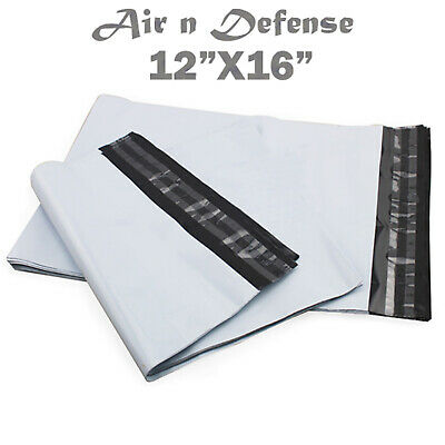 500 Pcs 12 X 16 Poly Mailers Envelopes Plastic Shipping Bags 2.5 Mil Airndefense