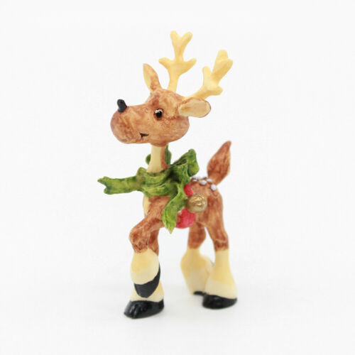 CUPID REINDEER Figurine - The North Pole Village - Enesco