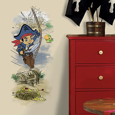 CAPTAIN JAKE AND THE NEVERLAND PIRATES GiaNT WALL DECALS NEW 38