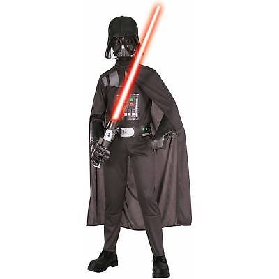 DARTH VADAR CHILD COSTUME boys large 12-14  (Darth Vadar Costumes)