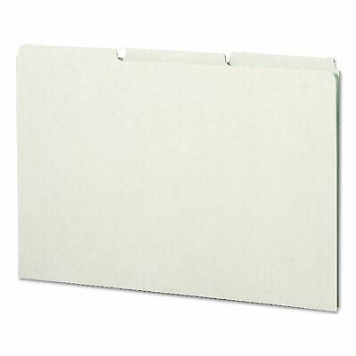 Smead Recycled Tab File Guides Blank 13 Tab Pressboard Legal 50box 52334