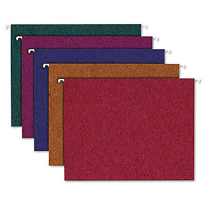 Pendaflex Earthwise Recycled Colored Hanging File Folders 15tab Letter Assorted