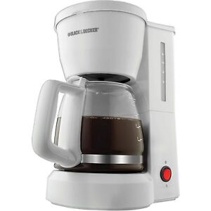 Black and decker 5 cup coffee maker