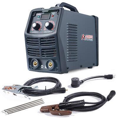 Mma-180 200 Amp Stick Arc Inverter Dc Welder 115v 230v Dual Voltage Welding