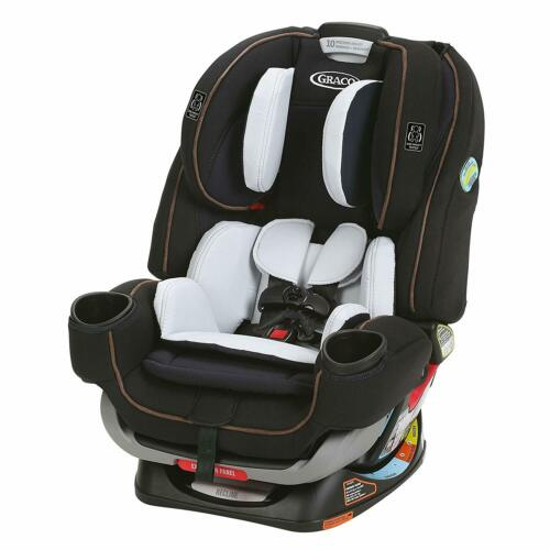 Graco 4Ever Extend2Fit 4-in-1 Car Seat in Hyde New!! Free Shipping! Open Box!!