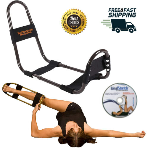 Original Hamstring Stretching Device with Instruction DVD Leg Knee Spinal Simple
