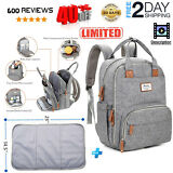 Diaper Bag Backpack,RUVALINO Large Multifunction Travel Back Pack Maternity Baby