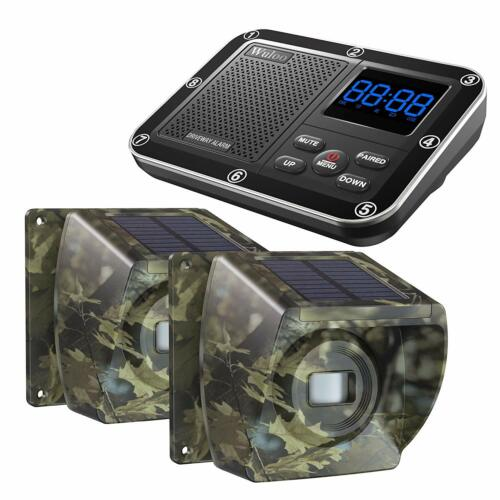 Camouflage Solar Driveway Alarms