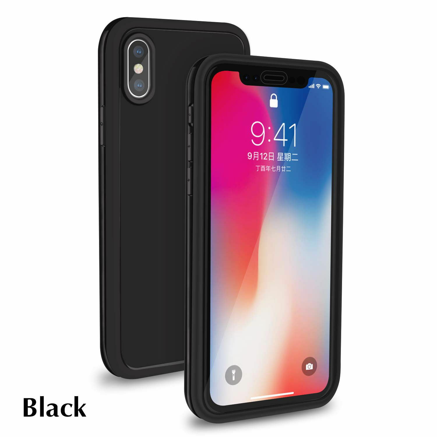Shockproof Hybrid Rubber Waterproof Case Cover For iPhone X XS MAX XR X 7 8 Plus