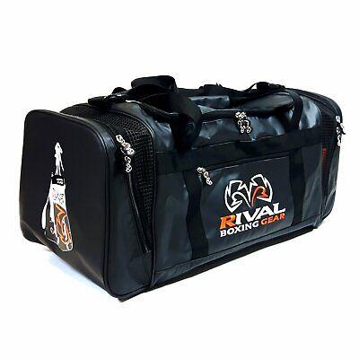 91340a41a0dc Rival RGB10 Gym Bag Boxing Holdall Backpack Duffel Gear Training Black  Orange
