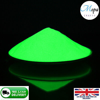 the Dark Green Powder for Pain,Nail,Art,Crafts, Acrylic (Glow In The Dark Pain)