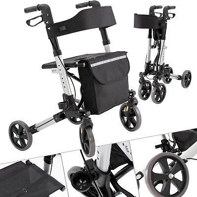 KESSER Alu Rollator klappbar Leichtgewichtsrollator Laufhilfe Gehhilfe