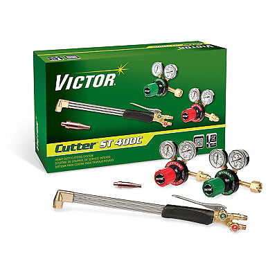 0384-2694 Victor Cutter St411c Torch Kit Set With Regulators