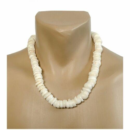 Handmade Extra Large Puka Shell Hawaiian Jewelry 22 Inch Necklace