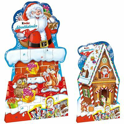 Kinder Chimney/Gingerbread House ADVENT Calendar 1ct. Christmas 2020 FREE SHIP