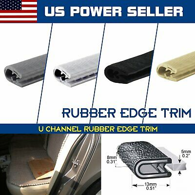 Automobile Door Edge Guard Rubber Trim Seal Edge Lok Pinchweld Weather Stripping